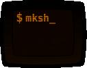 MirBSD Korn Shell logo